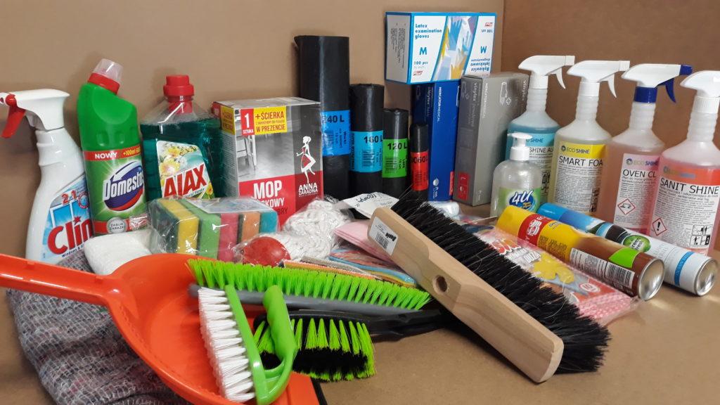 Środki do sprzątania i utrzymania czystości