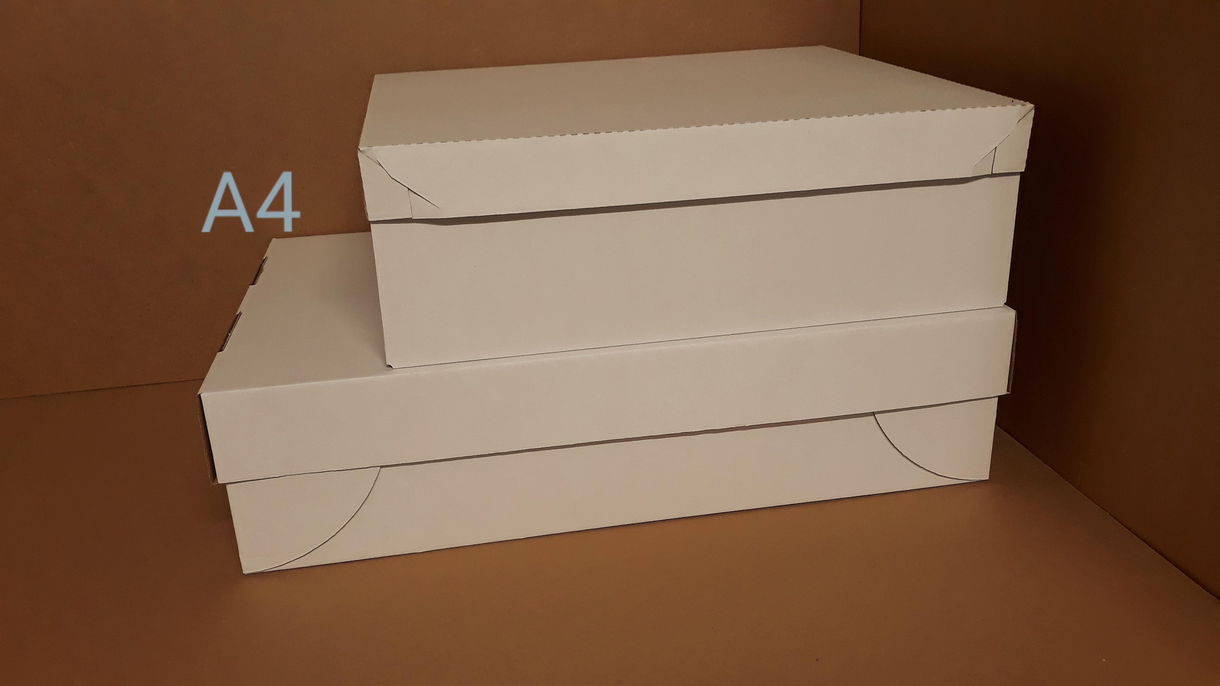 Pudełko z mikrofali z oddzielną przykrywką na torty i duże porcje ciasta